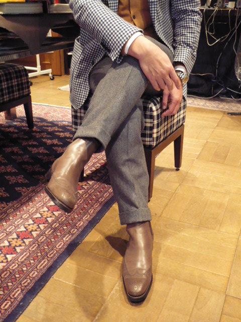サイドエラステック・Boots