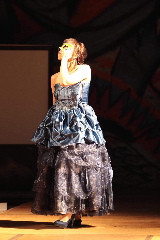 ボリュームたっぷりドレス