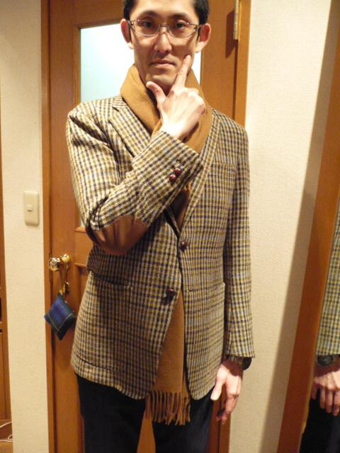 ジャケットを一着Orderしました